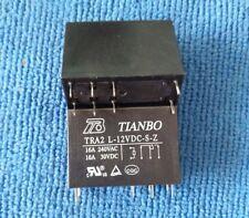 10pcs ORIGINAL TRA2 L-12VDC-S-Z TRA2L-12VDC-S-Z TIANBO Relay 8pins