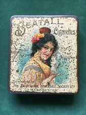 Very Rare Beatall 'Lady' Cigarettes Tin (CWS Manchester), c1905-10