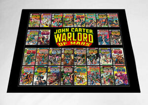 "JOHN CARTER, WARLORD OF MARS-Marvel-1970's-Original Fan Art-18"" X 24"" Poster"