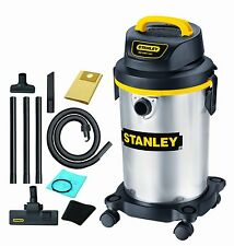 Small Wet Dry Vacuum Cleaner Stainless Steel Stanley 4 Gallons FAST DELIVERY
