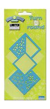 Embossingschablone Prägeschablone Merys Metall Blumen Blätter (E-006)