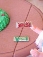 New Dollhouse Miniature ENERGY BAR BARS Set of 2 Re-ment Food Item