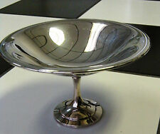 WM Rogers Silver Plated Pedestal Compote Serving Bowl / Candy Dish