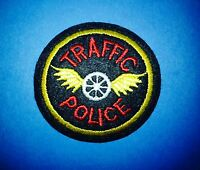 Vintage 1980's Traffic Police Department Hipster Jacket Hat Cosplay Patch