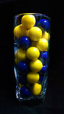 "Dubble Bubble Purple & Yellow Theme 1"" Gumballs  2  Lbs"