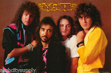 POSTER :MUSIC : Y & T   - GROUP POSED  - FREE SHIPPING !    #3000     RAP25 A