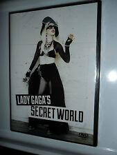 LADY GAGA'S SECRET WORLD DVD THE CULT OF GAGA NEW AND SEALED REGION 0 LADY GAGA