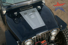 Jeep CJ Hood Louver panel set by American Rock Rods (Black finish) CJ5 CJ7 CJ8