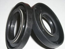 Maico crankshaft seals ,double lip with 2 spring rings fits 76 250 - new.