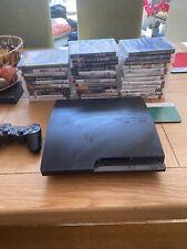 Sony PlayStation 3 Slim 320GB Console - Charcoal Black