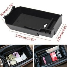 Black Armrest Storage Organizer Tray For Benz W205 GLC C180 C200 C250 C300 Coupe