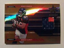 2005 Rookies & Stars Longevity 3-Color Patch RC Maurice Clarett 48/50   Broncos