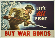 BUY WAR BONDS,Vintage style, Metal sign, Collectable, No.615