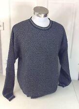 WOOLRICH Birdseye Sweater Cotton Mens Large