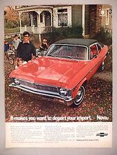 Nova PRINT AD - 1969 ~ Chevrolet