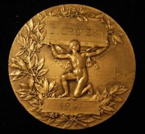 France 1941 Rhone Civil Law School Award-Bronze in box of issue