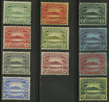 Solomon Islands  1908-11   Scott #  8-18    Mint Lightly Hinged Set