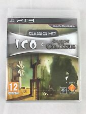 PS3 ICO & sombra del coloso Classics HD (2011) UK PAL, Nuevo Y Sellado De Fábrica