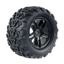 Tires With Wheel T3010 160mm 4P Fit RC Traxxas E-MAXX HPI Savage Flux 1:8 Truck