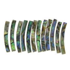 Ukulele Rosette Paua Abalone Curved Strips Sound Hole Inlay 2mm ID:65mm
