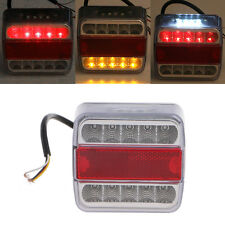 14 LED Truck Car Trailer Boat Caravan Rear Tail Light Stop Lamp Taillight DC 12V