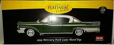 1959 MERCURY PARK LANE HARD TOP Diecast 10 inch SUNSTAR 1:18 PLATINUM SS5164 GRN