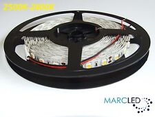 12VDC SMD5050 LED STRIP 2500k-2800k, 5m (72W, 300LEDS), IP20, 60leds / m, 14,4 W / M
