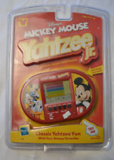 Hasbro Walt Disney Mickey Mouse Yahtzee Jr. Electronic Handheld Travel Game LCD