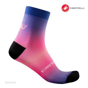 Castelli GRADIENT 10 Cycling Socks : LAPIS BLUE - One Pair