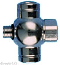 Adapter Splitter LP Hose 3/8 Male Regulator to 3/8x3 Female Scuba Diving AA53