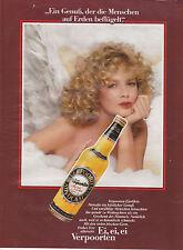 EI, EI, EI VERPOORTEN - PUBLICITE PRESSE  PAPER ADVERT 1985 - COUPURE MAGAZINE