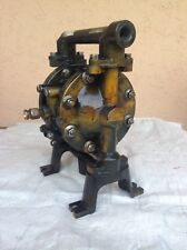 FLUX Druckluft - Membranpumpe FDM 12 AL/M2 Metall Industrie Pumpe