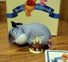 DISNEY Pooh and Friends BIRTHDAYS. THEY COME, THEY GO AGAIN ~ Figurine w/ Box