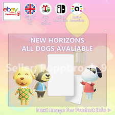 All Dogs Animal Crossing Custom NFC Amiibo Compatible Card New Horizons ACN