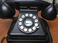 Crosley Kettle Classic Desk Phone with Push Button Dialer - Black