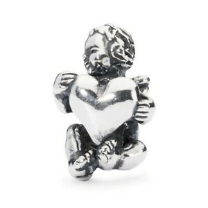 TROLLBEADS Bead in Argento Guardiano del Cuore TAGBE-30059