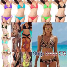 Women's Ladies Bikini Summer Beach Swimwear Monokini Swimming Swimsuit Swim Suit