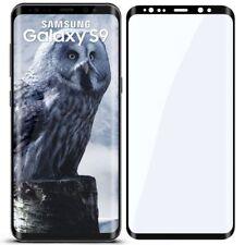 3D Panzer Glasfolie für Samsung Galaxy S9 aus 9H Hart Glas Curved Full Screen