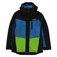 Campri Ski Jacket Youngster Boys Coat Top Full Length Sleeve Hooded Zip Zipped