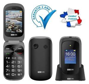 Téléphone Mobile Portable Désimlocké Sénior Touche SOS MaxCom Comfort MM825