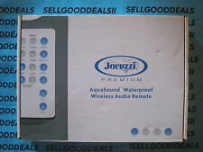 Jacuzzi Premium 6472-274 AquaSound Wireless Audio Remote New