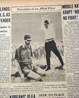 LEONARD SIFFLEET Australian Commando Japanese Samurai Execution PHOTO 1945 WWII