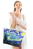 "Jinscloset Women's Fashion ""The Starry Night"" by Van Gogh Painting Travel Bag"