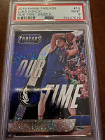Luka Doncic 2018-19 Panini Threads Our Time Dazzle PSA 9 ROOKIE🔥🔥🔥FREE SHIP!