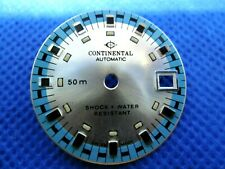 Cadran de montre Zifferblatt Watch Dial CONTINENTAL AUTOMATIC Shock+Water Resist