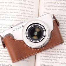 Ciesta CUOIO Fotocamera Case [ Marrone ] per Panasonic Lumix Lx7