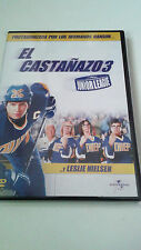 "DVD ""EL CASTAÑAZO 3"" COMO NUEVO LESLIE NIELSEN STEVE CARLSON GREYSTON HOLT"