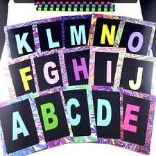 Phonics Rainbow Alphabet Literacy Cards with 20 Educational Game Instructions