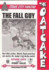 Fanzine - The Oatcake (Stoke City) Issue 120 - 27 Aug 1995
