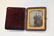 Tintype Sixth Plate Spanish American War Era - Sailor